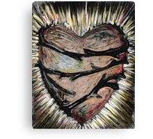 Heart with thorns Canvas Print