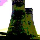 Tinsley Cooling Towers Warhol style part 2 by sidfletcher