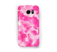 Lovely abstract art watercolor pattern in pastel pink. Samsung Galaxy Case/Skin