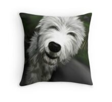 Old English Sheep Dog 2 Throw Pillow
