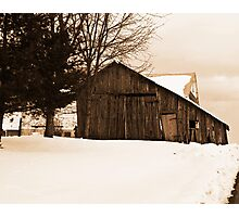 Old Run Down Shed Photographic Print