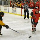 Hockey Action #1 by AuntieJ