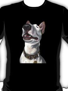 Lola English Bull Terrier Painting 2 T-Shirt