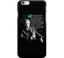 A Quote from Carl Gustav Jung Quote #19 of 50 available iPhone Case/Skin