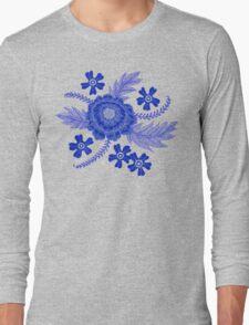 Blue Peony T-Shirt