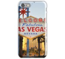 Welcome to Vegas iPhone Case/Skin