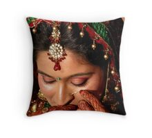 THE INDIAN BRIDE2 Throw Pillow