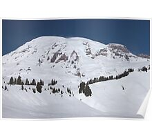 Mt. Rainier at Paradise (Washington State) Poster