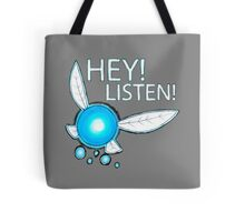 Navi!  HEY! LISTEN! Tote Bag