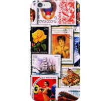 Stamp Collector iPhone Case/Skin