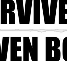 I Survived Steven Bomb Sticker