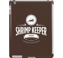 Shrimp Keeper - Expert iPad Case/Skin
