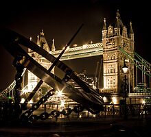 Tower Bridge - attempt at a different take by Geoff Hunter