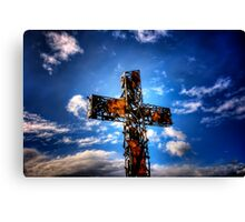 Rusty Cross Canvas Print