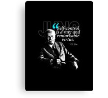 A Quote from Carl Gustav Jung Quote #24 of 50 available Canvas Print