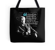 A Quote from Carl Gustav Jung Quote #26 of 50 available Tote Bag