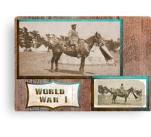 Light Horseman  WW1 Canvas Print