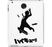 Haikyuu!! Hinata spike - black iPad Case/Skin