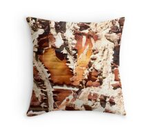 Rock abstract Throw Pillow