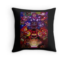 Five Nights at Freddys Throw Pillow