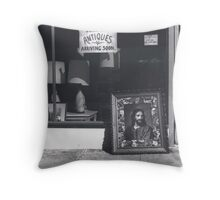 European Antiques Throw Pillow
