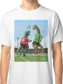 dinosaur football sport game Classic T-Shirt