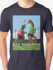 dinosaur football sport game Unisex T-Shirt