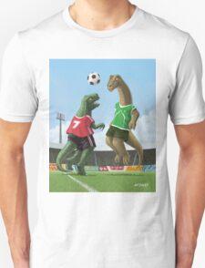 dinosaur football sport game T-Shirt