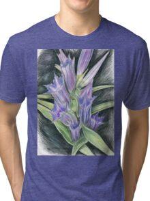 Purple, and Black Visions Tri-blend T-Shirt