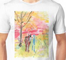 Study of Syd Barrett's 'Man and Donkey' Unisex T-Shirt