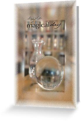 Magical Day Card 01 © Vicki Ferrari by Vicki Ferrari