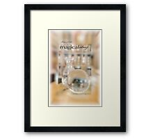 Magical Day Card 02 © VFPCards Framed Print