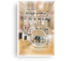 Magical Day Card 02 © VFPCards Canvas Print