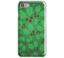 Jolly Holly iPhone Case/Skin