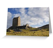 Smailholm Tower Greeting Card