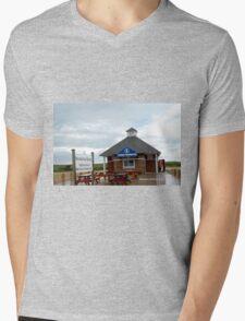 misquamicut, ri - Wuskenau Beach Mens V-Neck T-Shirt