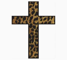 Leopard Print Cross by jact