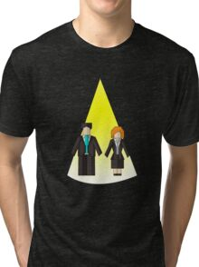 The Origami Files Tri-blend T-Shirt