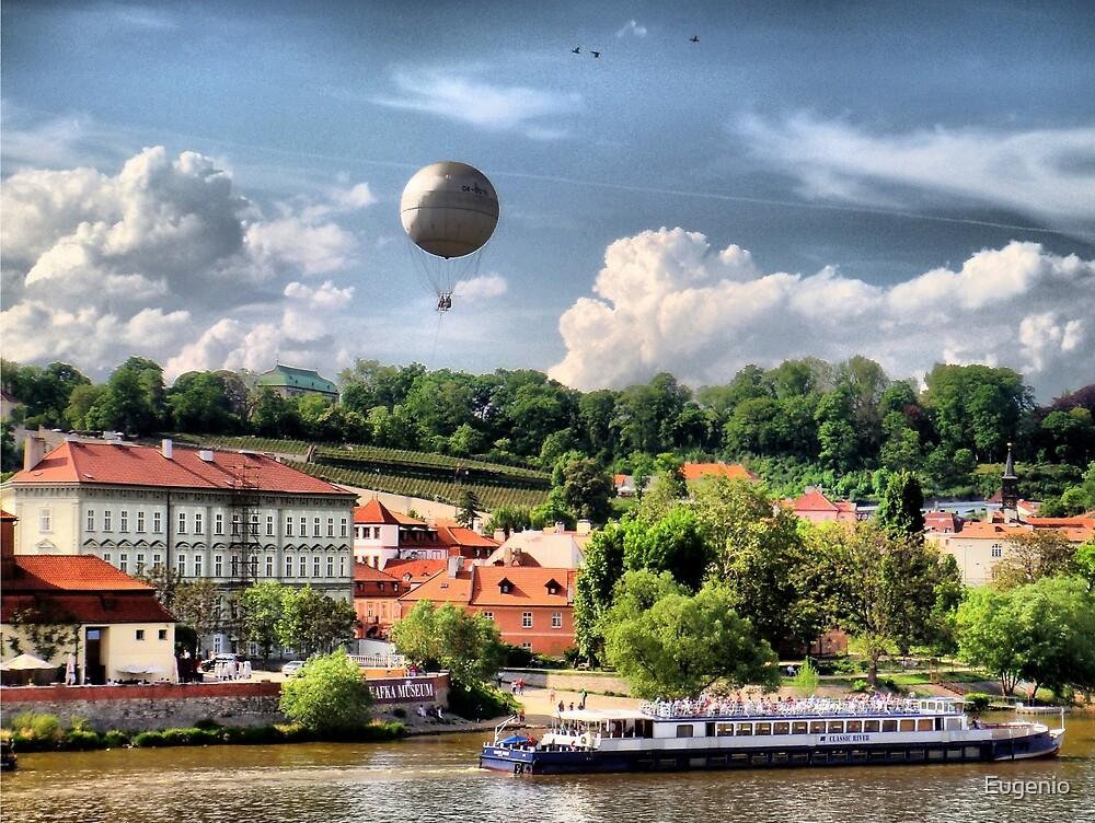 Prague - balloon.. by Eugenio