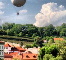 Prague - balloon.. Sticker