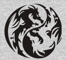 Dragon yin yang. Kids Clothes