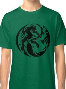 Dragon yin yang. Classic T-Shirt