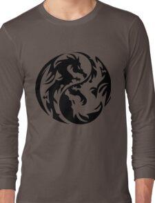 Dragon yin yang. Long Sleeve T-Shirt