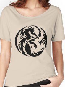 Dragon yin yang. Women's Relaxed Fit T-Shirt