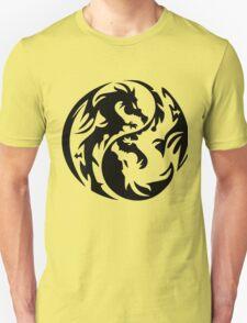 Dragon yin yang. T-Shirt
