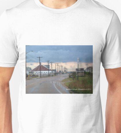 misquamicut, ri rain Unisex T-Shirt