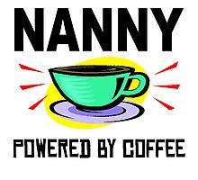 Nanny Powered By Coffee Photographic Print