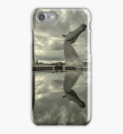 Reflected Kelpies  iPhone Case/Skin