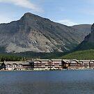 Many Glacier Lodge ~ Glacier Nat'l Park ~ Montana by Bonnie Robert
