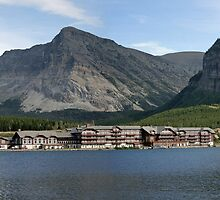 Many Glacier Lodge ~ Glacier Nat'l Park ~ Montana by Bonnie Robert